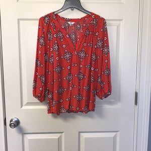Crown and Ivy Top sz XL